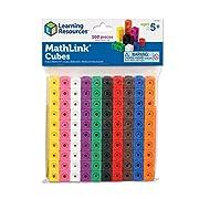 Mathlink LER4285 Learning Resources Steckwürfel (Set mit 100 Stück)