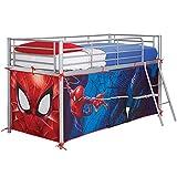 Lot de rideaux cabane Spider-Man pour lit superposé
