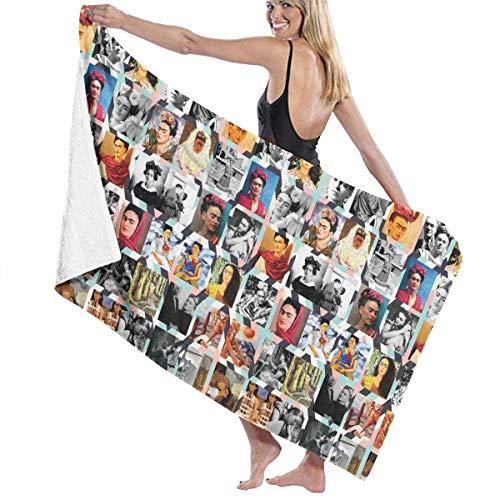 fjfjfdjk JENNASTOLZZ Unisex Frida Kahlo Soft Music Band Gym Towel Gift(5232inch)