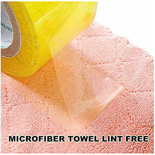 """SHICEN 10-Pack 9.85""""x9.85"""" Microfiber Cleaning Cloth Degreasing Cleaning Supplies, Double-Sided Microfiber Towel Lint-Free, Super Absorbent and Dry Quickly, Suitable for Kitchen, Car, Glass Cleaning."""