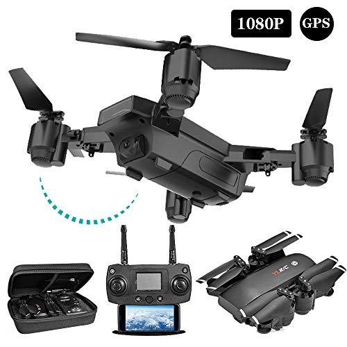 KADDGN GPS Drone FPV Drones con La Macchina Fotografica per Adulti 1080P / 720P HD, per Principianti...