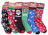 Paire de chaussettes chauffantes pour homme Motif Père Noël