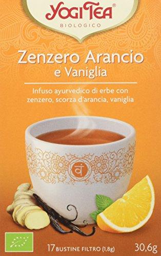 Yogi Tea Zenzero Arancio e Vaniglia - 30.6 gr