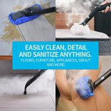 Dupray Neat Steam Cleaner Multipurpose Heavy Duty Steamer for Floors, Cars, Home Use and More.
