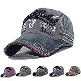 CheChury Casquette de Baseball Unisexe Réglable Bonnet de Golf Vintage Cap
