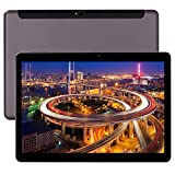 10 Inch Tablet Smartphone Phablet Unlocked 4G LTE,Android 9.0 Deca-Core Processor 2.8GHZ 6GB+64GB, 1920x1280 IPS HD Display,Dual Camera Bluetooth WiFi GPS 10.1' Tablets PC Google Play (Black)