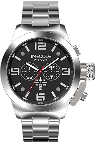 Timecode WTO 1994 Herren-Armbanduhr Chronograph Quarz TC-1007-01