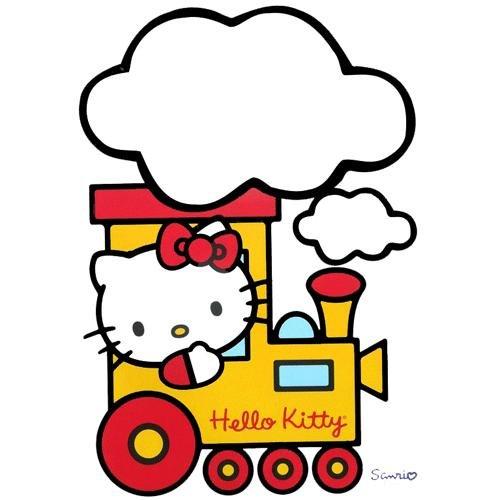 Adesivo Deco Fete Hello Kitty Lavagna