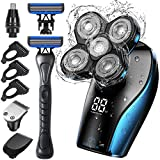 Head Shavers for Bald Men, OriHea Electric Head Shaver for Man with Extra Razor Handle Grooming...
