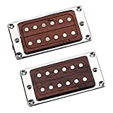 difcuyg5Ozw High Permeability 6 String Humbucker Rose Wood Pickup Durable Epihone Electric Guitar Part Accessories