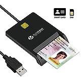 Eletrand Lecteur de Carte à Puce/ Smartcard Reader | Plug et Play |...