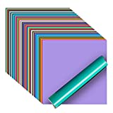iImagine Vinyl Permanent Vinyl for Cricut, 72 Pack Permanent Adhesive...