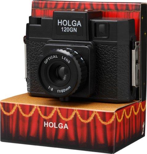 【HOLGA120GN】 120フィルムホルガ/ガラスレンズ(PowerShovel)