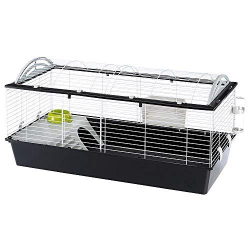 Ferplast 57067070 Heim für Kaninchen, Meerschweinchen und andere Kleintiere, Maße: 119 x 58 x 61 cm (XL)