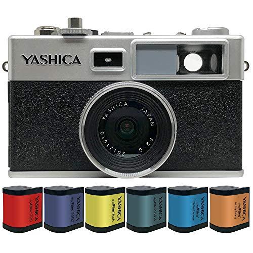 ヤシカ デジフィルムカメラ Y35 コンボ YASHICA digiFilm Camera Combo digiFilm 6pcs フィルム6本付 フルセット YAS-DFCY35-P01