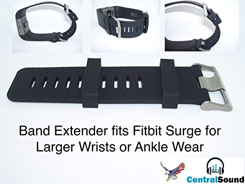 Band Extender Compatible for Fitbit Surge Extra Large Sized Wrist or Ankle Wear Make XL
