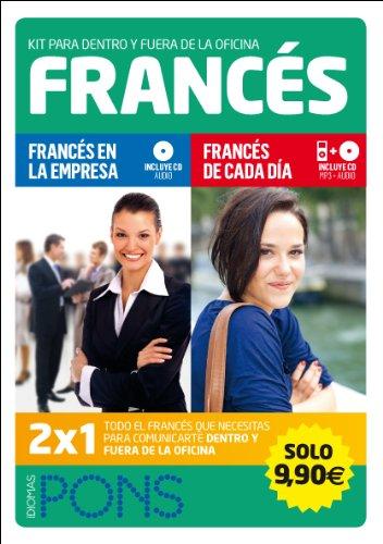 Kit para dentro y fuera de la oficina. Francés (2 libros +2 CD)) (Pons - Kit Empresa)