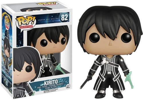 Funko pop sword art online kirito vinyl figure