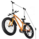 Wallmaster Bike Ceiling Mount Lift Hoist Hanger Storage Rack for Garage Indoor