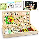 lenbest Montessori Boîte d'apprentissage de Math, Magnétique...