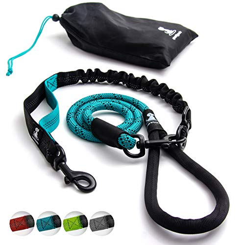 Heavy Duty Rope Bungee Leash for Large and Medium...