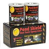 Pond Armor SKU-GRAY-QT-R Non-Toxic Pond Shield Epoxy Paint, 1.5-Quart, Gray