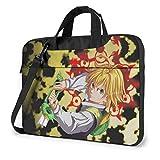 15.6″Durable Hombro Mensajero Bolsa maletín PC Los Siete pecados Capitales Moda Impermeable Ordenador Portátil/portátil/Tablets