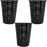 Hayward AXW431ABK Plastic Leaf Basket for Swimming Pool Leaf Canister (3 Pack)