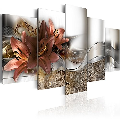 Konda Art - Floral Canvas Art Modern Paintings for Wall Decor 5...