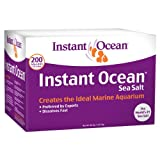 Instant Ocean Sea Salt for Marine Aquariums, Nitrate & Phosphate-Free, 200-Gallon