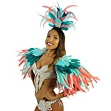 Tropical Feather Carnival Mardi-Gras Costume - Sexy Cosplay,Halloween, Parade Outfit