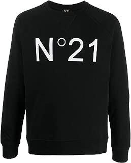N°21 (ヌメロヴェントゥーノ)[ヌメロ ヴェントゥーノ]N°21 定番ロゴスエットトップス BLACK