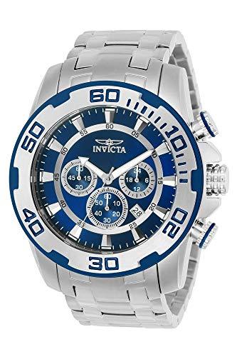 Invicta 22319 Pro Diver - Scuba Herren Uhr Edelstahl Quarz blauen Zifferblat