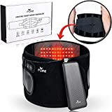 3in1 Cordless Infrared Heating Pad, Lower Back Massager, Lumbar Support Belt with Fast Heating Technology with Cold Therapy - 3 Heat & Massage Settings - Pain Relief for Lower Back Pain, Cramps