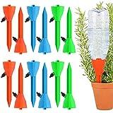 12 Pcs Riego por Goteo Automtico Kit,Sistema de Riego Automtico por Goteo,Dispositivos de riego domsticos de Plantas, Flores, Bonsai