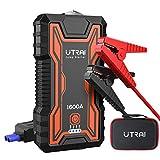 UTRAI Booster Batterie Voiture, 1600A 16000mAh Portable Jump Starter, Démarrage...