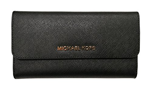 51oSyX8TUYL Snap Closure, 4 Open Pockets, 18 Credit Card Slots Signature Coated Canvas 7.5''L X 5''H X 1''W