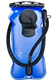WACOOL 3L 3Liter 100oz BPA Free EVA Hydration Pack Bladder, Leak-Proof Water Reservoir (Blue(Double Opening))