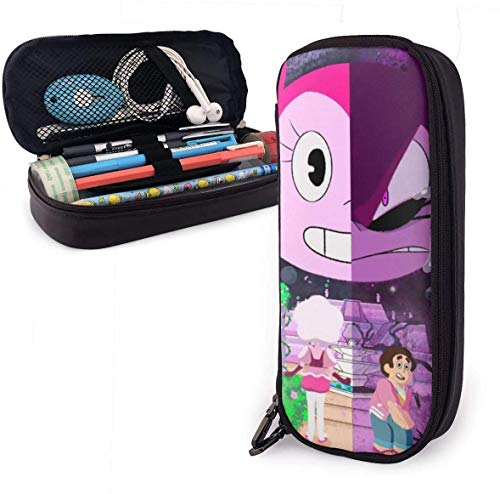 Leather Astuccio Cartoon Steven Universe Spinel Pen Case Pouch Holder Stationery Cosmetic Makeup...