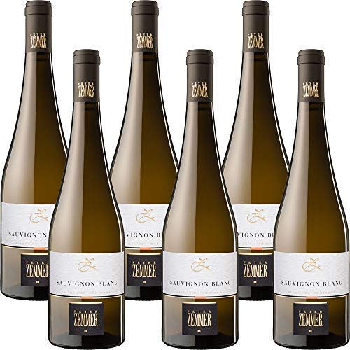 Sauvignon Blanc | Peter Zemmer | Alto Adige DOC | Vino Bianco | 6 Bottiglie 75Cl | Idea Regalo