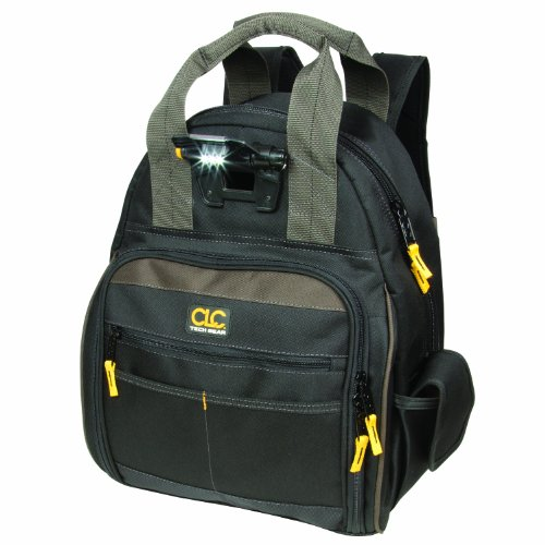 10. CLC Custom Leathercraft L255 Tech Gear 53 Pocket Lighted Back Pack