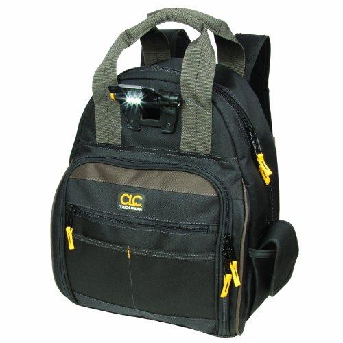 10. CLC Custom Leathercraft L255 Tech Gear 53 Pocket Lighted Back Pack