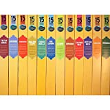 Nag Champa Spa Popular Fragrances Incense Sampler - 12 Boxes (15 Sticks Ea) Total 180 Sticks