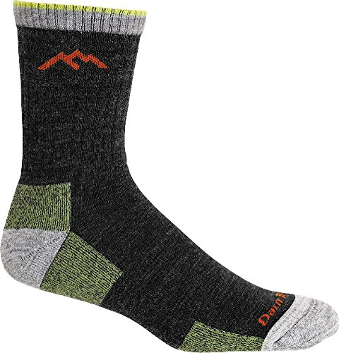 Darn Tough Hiker Micro Crew Cushion Sock - Men's Lime Large