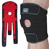 Modvel Premium Supportive Knee Brace Meniscus Tear - FDA Approved, Supports and Relieves PCL, ACL, LCL, MCL, Arthritis, Tendonitis Pain | Open Patella Dual Stabilizers | Non-Slip Straps. (MV-105-S)