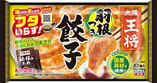 【冷凍】イートアンド 大阪王将 羽根つき餃子 12個入X6袋