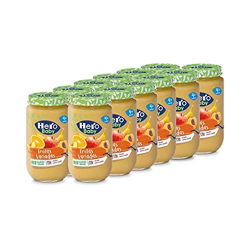 Hero Baby - Tarrito de Frutas Variadas, Ingredientes Natural
