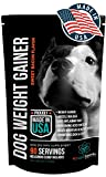 PET CARE Sciences Dog Weight Gain Supplement, Helps Recovery from Injury and Builds Muscle, Multi Benefit, Helps Maintain Healthy Joints, Conditions Skin and Coat. Sweet Bacon Flavor, Made in The USA