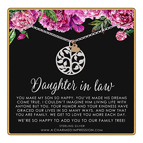 Daughter in Law Gift • Welcome to our Family Tree •...