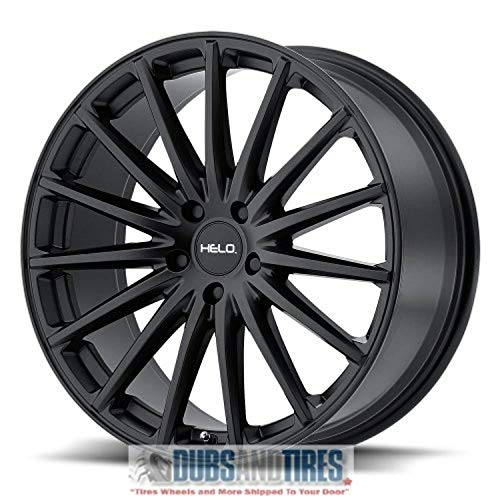 HELO HE894 Satin Black Wheel Chromium (hexavalent compounds) (18 x 8. inches /5 x 72 mm, 38 mm Offset)